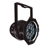 Showtec LED Par 64 Short 18 x 3 W LED schwarz